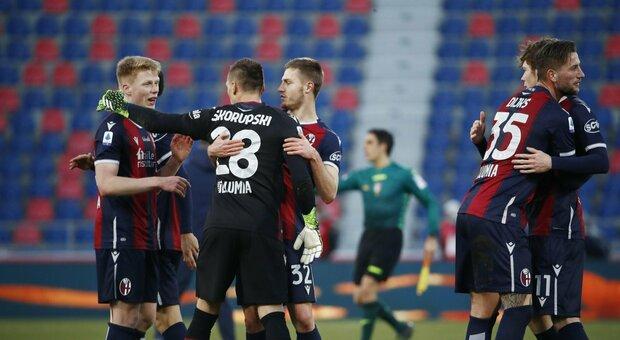 """Il Bologna torna al successo, Mihajlovic vince il """"derby"""" con Juric"""