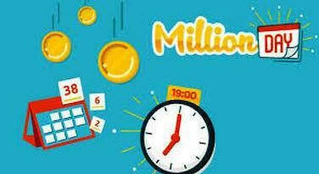 Million Day, estrazione dei numeri vincenti di oggi 7 maggio 2021