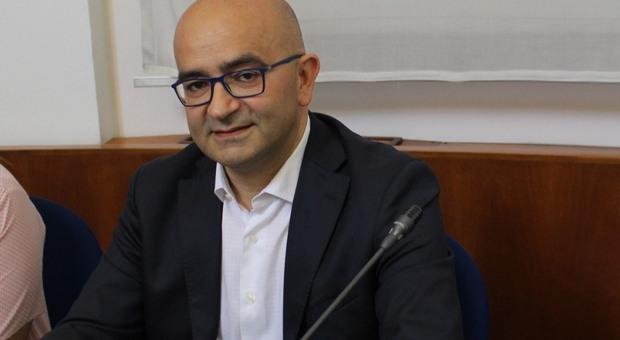 L'assessore Dimitri Tinti
