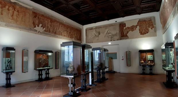 La sala principale del Museo archeologico di Ascoli