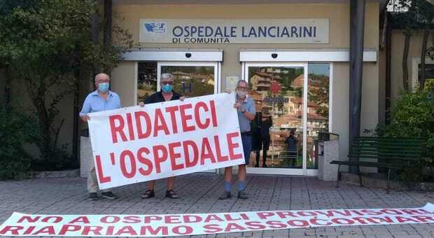 Il comitato pro-apertura ex ospedale Lanciarini di Sassocorvaro