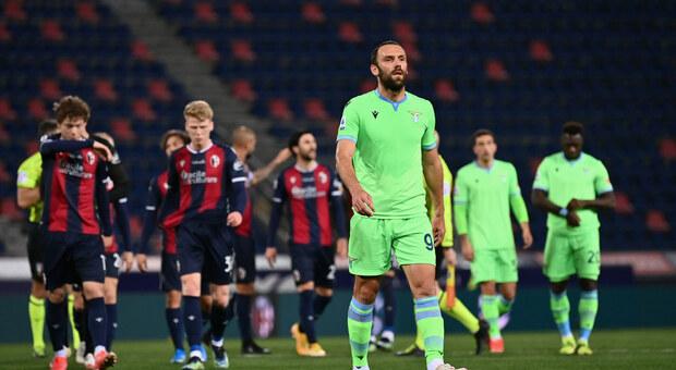 Bologna-Lazio 2-0, le pagelle. Immobile, la maledizione del continua. Luis Alberto, pochi lampi e molta discontinuità