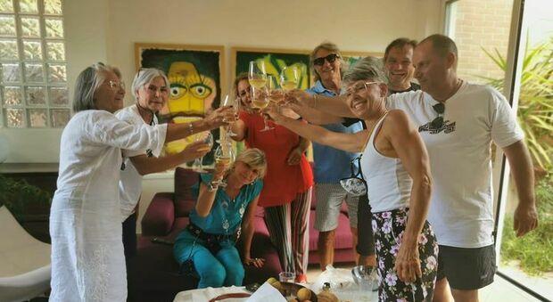 A casa Tamberi esplode la festa: «E' volato più in alto per portare un saluto a nonno Marcello»