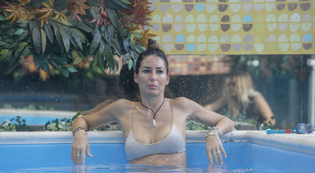 Grande Fratello Vip, Elisabetta Gregoraci lascia la casa: «Ho preso la decisione, vado» (per concessione di Endemol)