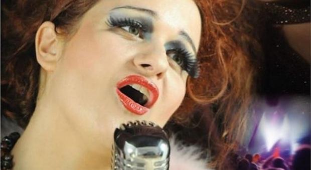 La cantante Cinzia Dominguez