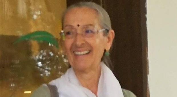 L' insegnante di yoga Paola Ciabotti