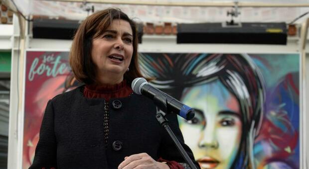 Laura Boldrini, ex presidente della Camera e deputata del Pd