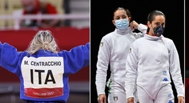 Medaglie azzurre oggi a Tokyo: argento alla Bordignon, bronzi nel judo e nella spada donne