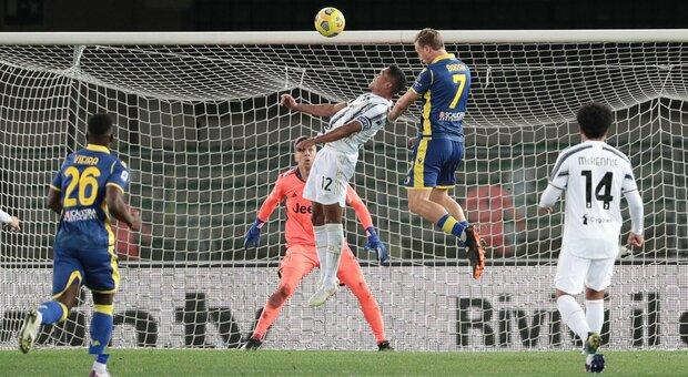 Verona-Juventus, le pagelle: Barak da applausi, Szczesny ci mette una pezza