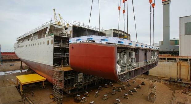 Fincantieri, impostata la Viking Mars: la nave da crociera per quasi mille passeggeri sarà pronta nel 2022