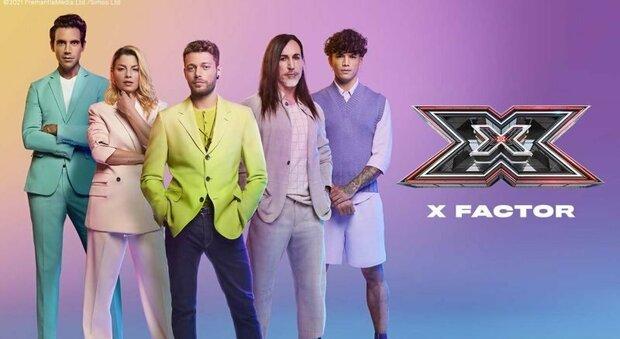 I giudici di X Factor 2021 con Ludovico Tersigni
