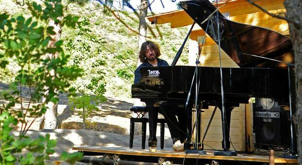 Il pianista pesarese Mario Mariani, ideatore del festival