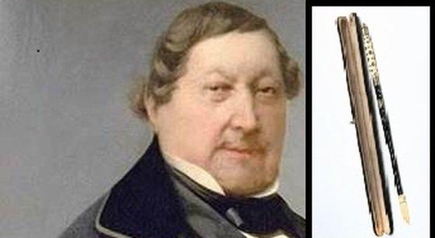 La bacchetta da direttore d'orchestra di Rossini va all'asta: prezzo base 1.500 euro, Pesaro ci prova?