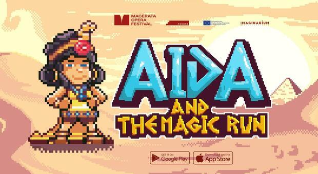 Aida diventa un videogioco per i cento anni dello Sferisterio di Macerata