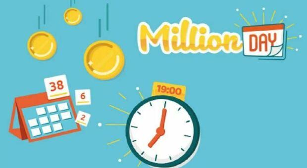 Million Day, in diretta l'estrazione dei numeri vincenti di martedì 27 luglio