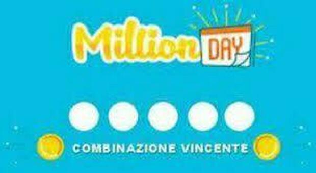 Million Day, estrazione dei numeri vincenti di oggi 17 maggio 2021