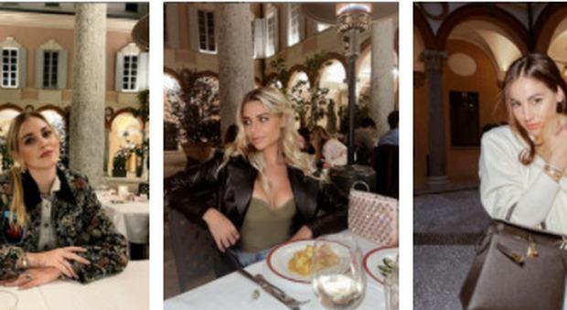 Chiara Ferragni e Giulia De Lellis, prima cena fuori nello stesso ristorante: così ci si affida alle influencer per ripartire