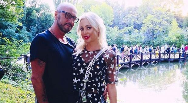 Raluca Rebedea e Walter Zenga (Instagram)
