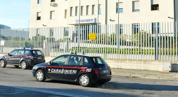 Il comando della Compagnia dei carabinieri a Civitanova