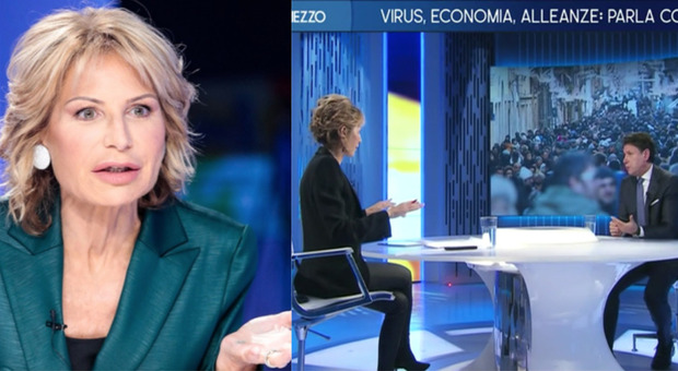 Conte, colpi di tosse durante l'intervista: Lilli Gruber e la verità sulle condizioni del premier. Stamattina il tampone