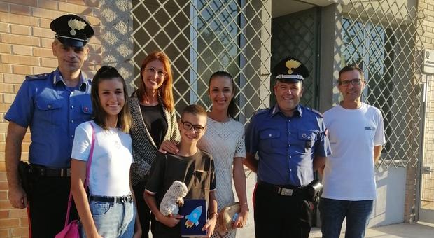 I carabinieri ritrovano i bagagli rubati: restituiti al piccolo Tommaso il peluche e il diario segreto