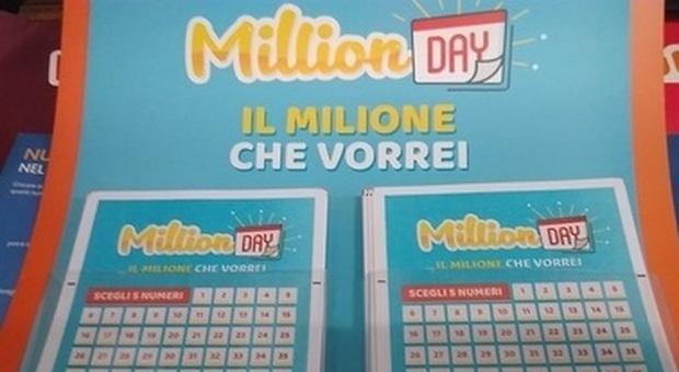 Million Day, caccia ai cinque numeri che possono valere una fortuna: l'estrazione alle 19