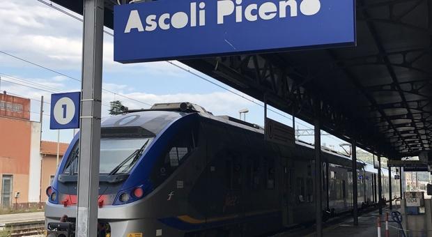 La stazione di Ascoli