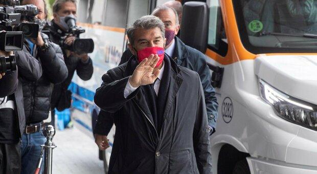 La Superlega non si ferma. Laporta (Barcellona): «La proposta c'è ancora. Aperti al dialogo con Uefa»