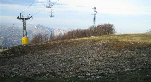 Gli impianti di risalita di Monte Piselli