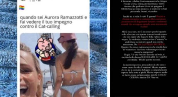 Aurora Ramazzotti, umiliata (ancora) per la foto in costume. La risposta è epica: «Il corpo è mio e decido io»
