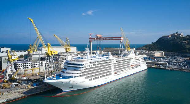 Un'altra super nave da crociera costruita al Porto: ecco la Silver Moon per quasi 600 passeggeri