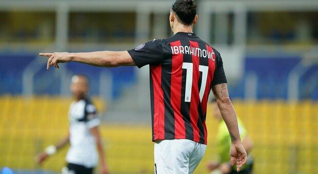 Serie A, multa e turno di stop per Ibrahimovic: la decisione del giudice sportivo