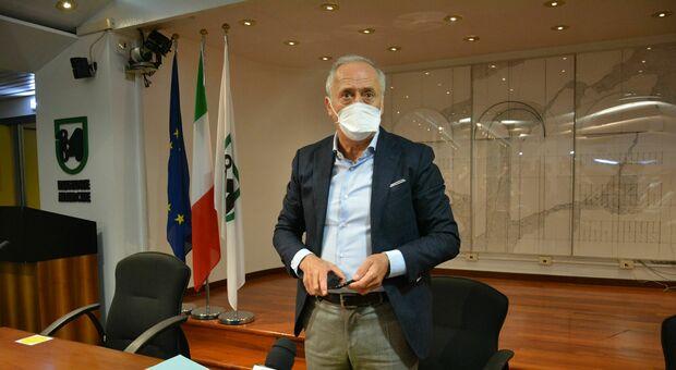 L'assessore Filippo Saltamartini
