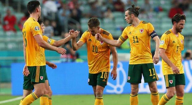 """Turchia-Galles 0-2: in gol Ramsey più Roberts, i gallesi """"vedono"""" gli ottavi"""
