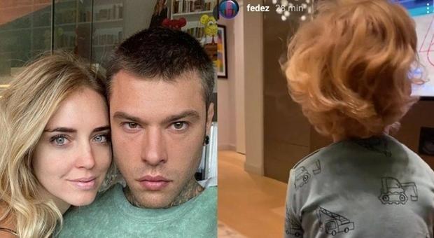 Chiara Ferragni, il gesto incredibile di Leone che gioca con Fedez: «Ma come ha fatto?»
