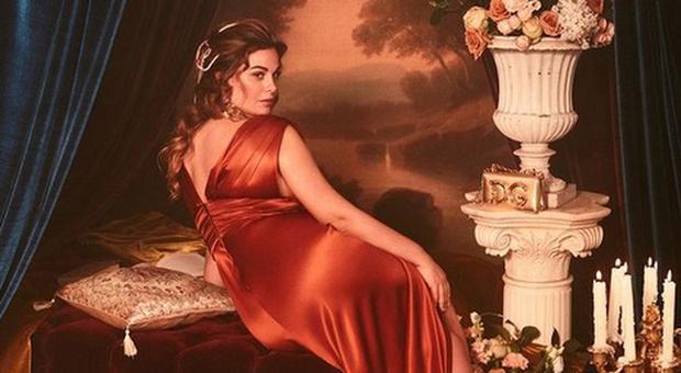 Vanessa Incontrada per Dolce&Gabbana (Instagram)