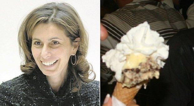 Fabriano, la nuova sfida di Maria Paola Merloni con la macchina per farsi il gelato a casa
