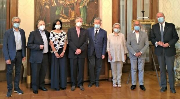 Il nuovo consiglio d amministrazione della Fondazione Carifermo