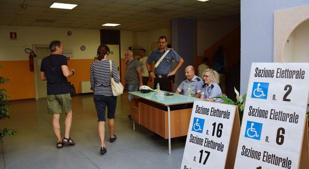 Un seggio ad Ancona
