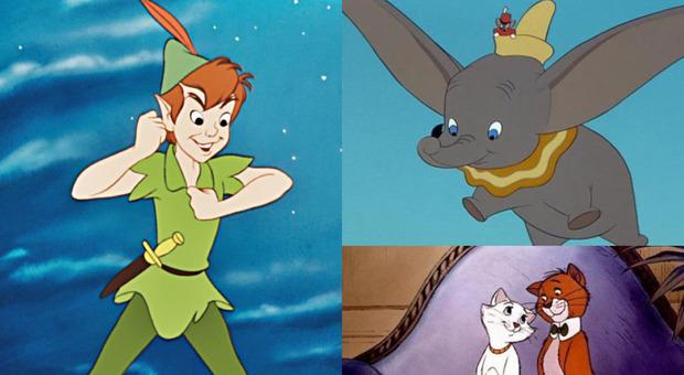 Disney, bollino rosso ai classici: Dumbo, Peter Pan e gli Aristogatti vietati ai minori di 7 anni