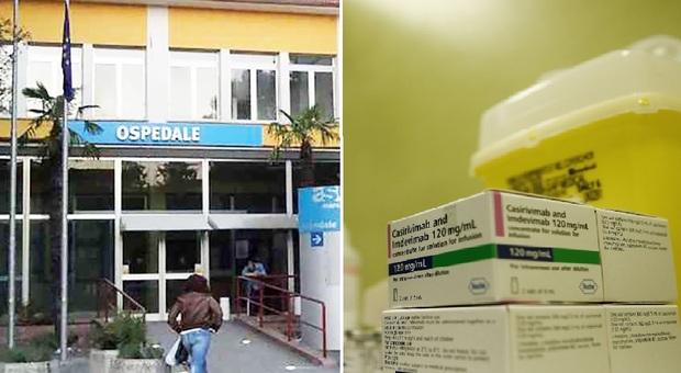 Fossombrone, Covid, parte all'ambulatorio dell'ospedale la somministrazione di anticorpi monoclonali