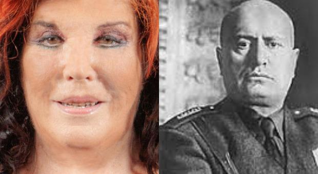 «Patrizia De Blanck nipote di Mussolini»: la rivelazione a Live Non è la D'Urso. «Ecco chi era il padre»