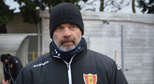 Federico Giampaolo, allenatore della Recanatese
