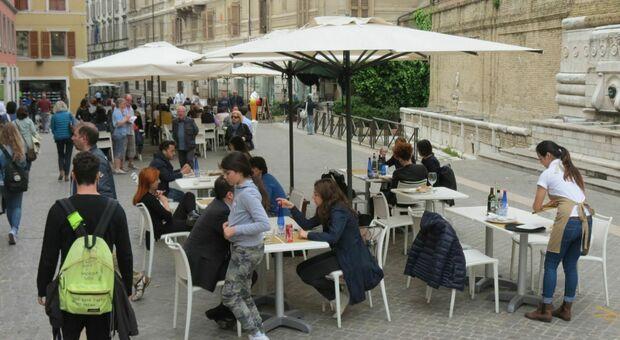 I ristoranti in corso Mazzini