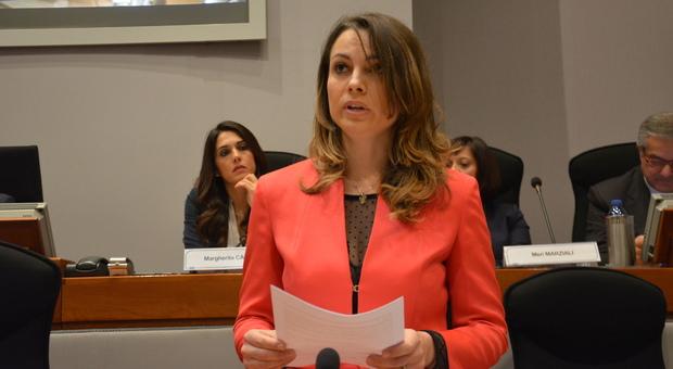 Elena Leonardi, consigliere regionale Fdi e presidente della commissione Sanità