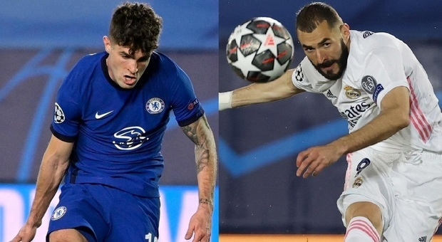 A Pulisic risponde Benzema: tra Real e Chelsea finisce 1-1. Si decide tutto a Stamford Bridge