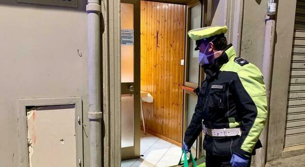 pattuglia della polizia locale della Media Vallesina