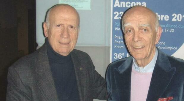 Gabriele Fradeani a sinistra con Giorgio Galeazzi