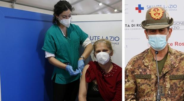 Vaccini, Figliuolo: «Valutiamo Astrazeneca agli under 60». Vaccinati gli atleti che andranno alle olimpiadi