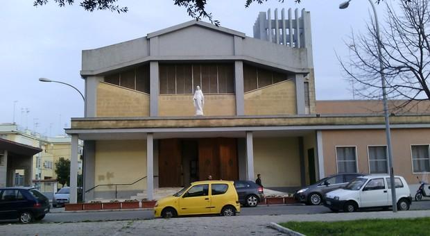 La chiesa al quartiere Perrino a Brindisi